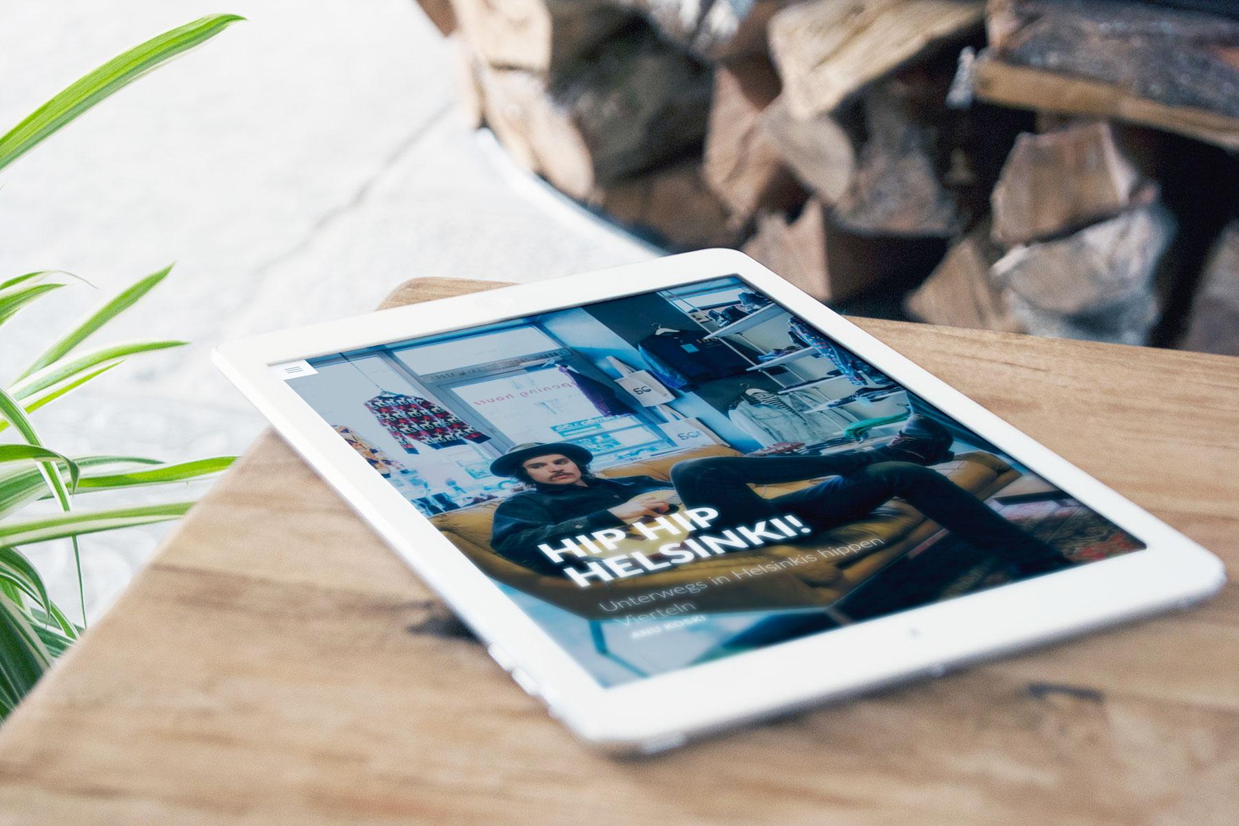 """travelstory.io und Visit Finland präsentieren neues digitales Reisemagazin """"Dein Finnland"""""""