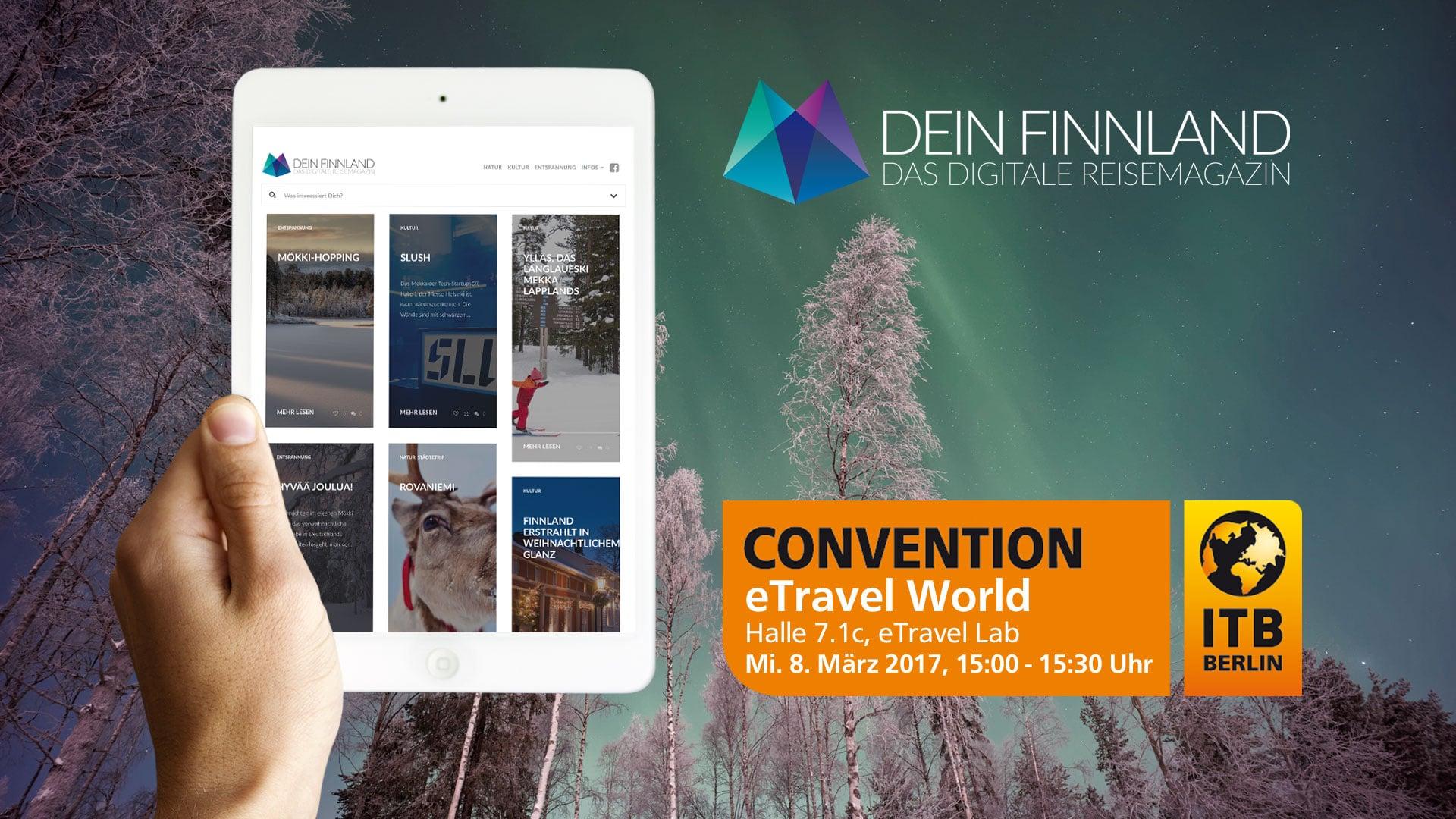 Vortrag ITB 2017: Digitales Storytelling VisitFinland