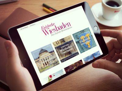 """""""Entdecke Wiesbaden"""" - Das digitale Reisemagazin der Wiesbaden Marketing GmbH"""
