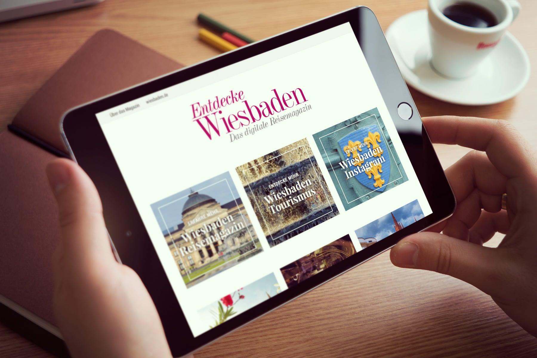 Entdecke Wiesbaden - Das digitale Reisemagazin