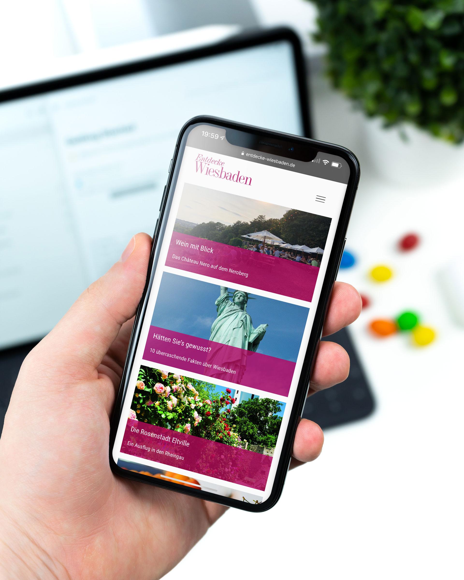 Digitales Reisemagazin Entdecke Wiesbaden
