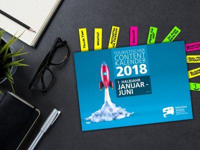 Contentplanung leicht gemacht mit der neuen Ausgabe unseres Contentkalenders 2018