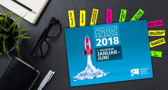 Contentkalender Tourismus 2018