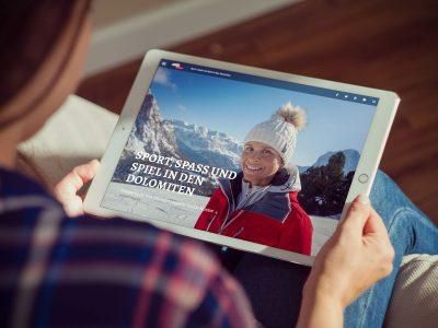 Dolomites Val Gardena Magazine - Start des digitalen Reisemagazins