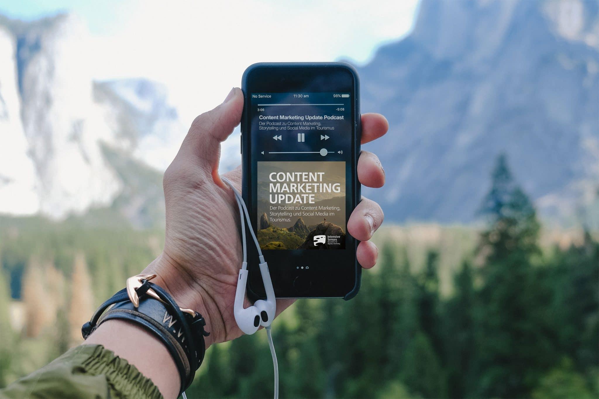 Ab jetzt gibt es uns auch für die Ohren: Der Content Marketing Update Podcast