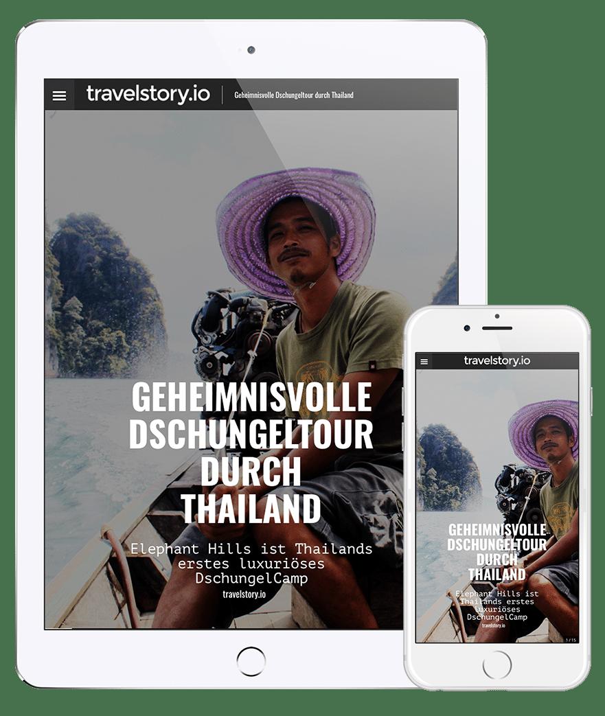 Digitale Reisemagazine mit travelstory.io
