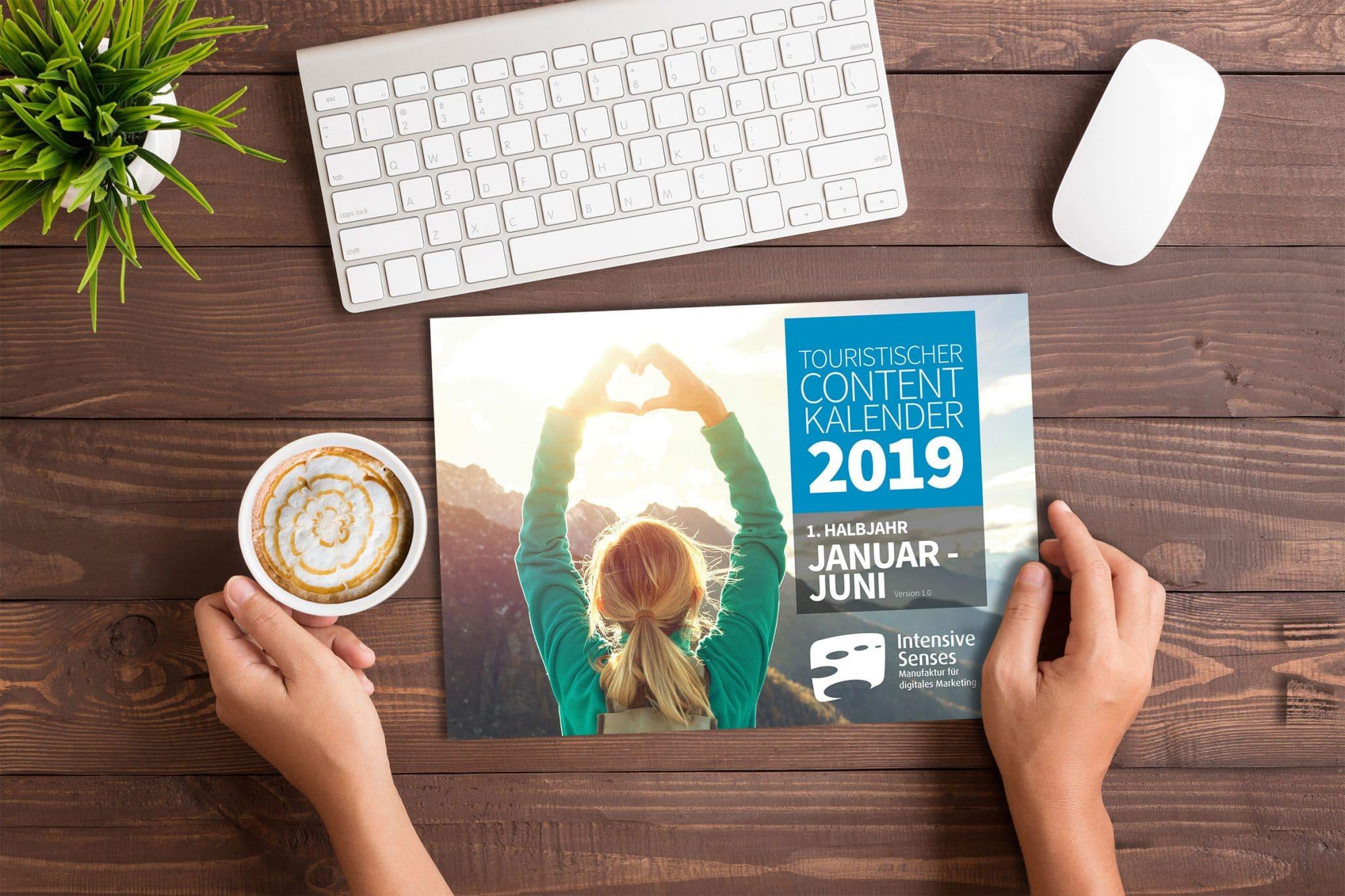 Contentkalender Tourismus 2019