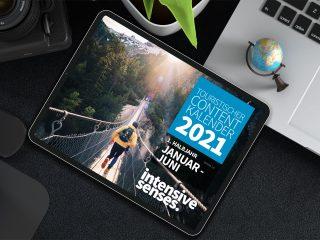 Contentplanung leicht gemacht mit der neuen Ausgabe unseres Contentkalenders Januar-Juni 2021